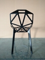 Polished Anodized Aluminum Stackable Konstantin Grcic Magis Chair One Chair 11