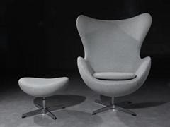 Living Room Furniture Fritz Hansen Arne Jacobsen Egg Chair