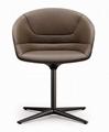 Fiberglass Kyo Swivel Dining Chair