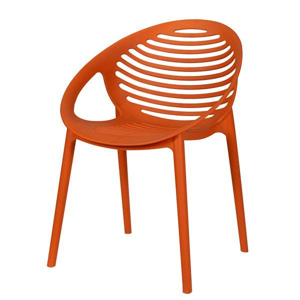 Modern Classic Designer Furniture Stackable Cello Abacus Plastic Chair 4