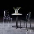 modern classic plastic chair acrylic ghost chair without arm 3