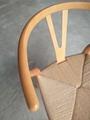 Modern Furniture CH24 Wishbone Dining Chairs by Hans J. Wegner for Carl Hansen 8