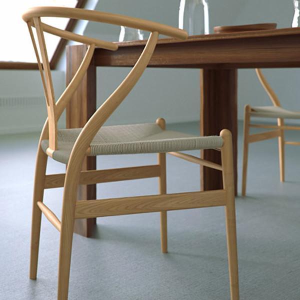 Modern Furniture CH24 Wishbone Dining Chairs by Hans J. Wegner for Carl Hansen 9