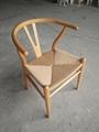Modern Furniture CH24 Wishbone Dining Chairs by Hans J. Wegner for Carl Hansen 10