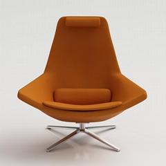 Mid-Century Swivel Metropolitan Chairs by Jeffrey Bernett for B&B Italia
