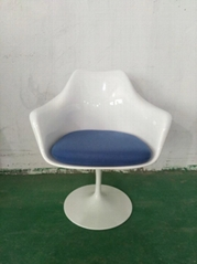 Modern Design Swivel Eero Saarinen Tulip Armchair
