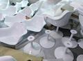 Modern Design Swivel Eero Saarinen Tulip Armchair  12
