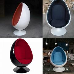 henrik thor-larsen fiberglass Oval egg chair egg pod chair (Hot Product - 1*)