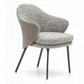 Scandinavian modern design upholstered