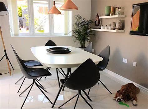 Fiberglass Shell Leather Ottawa Dining Chair 3