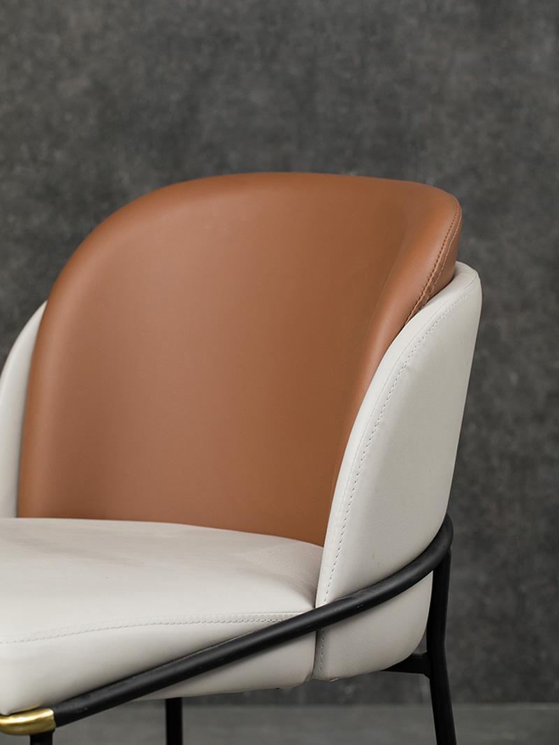 Modern Classic Furniture Fil Noir dining chair by Minotti 3