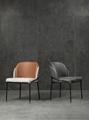 Modern Classic Furniture Fil Noir dining chair by Minotti 4