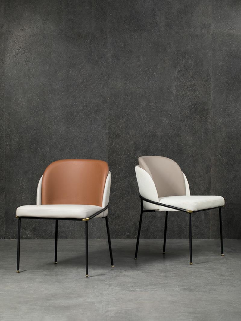 Modern Classic Furniture Fil Noir dining chair by Minotti 5