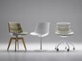 modern design plastic seat flow chair design by Jean Marie Massaud 2
