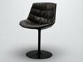 modern design plastic seat flow chair design by Jean Marie Massaud 3