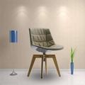 modern design plastic seat flow chair design by Jean Marie Massaud 4