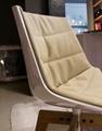 modern design plastic seat flow chair design by Jean Marie Massaud 6