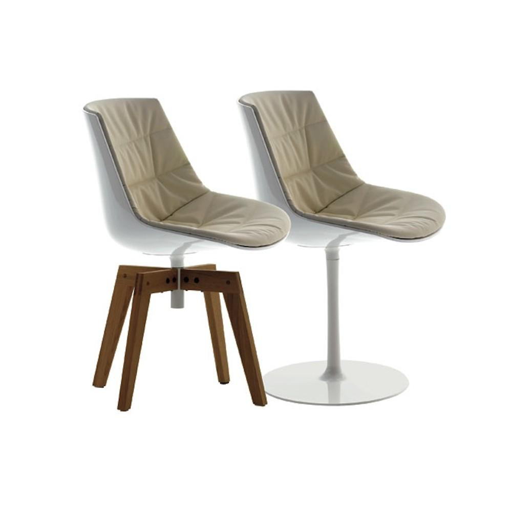 modern design plastic seat flow chair design by Jean Marie Massaud 7