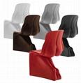 Replica Fiberglass S Shaped Fabio Novembre Him & Her Chair 4
