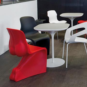 Replica Fiberglass S Shaped Fabio Novembre Him & Her Chair 6
