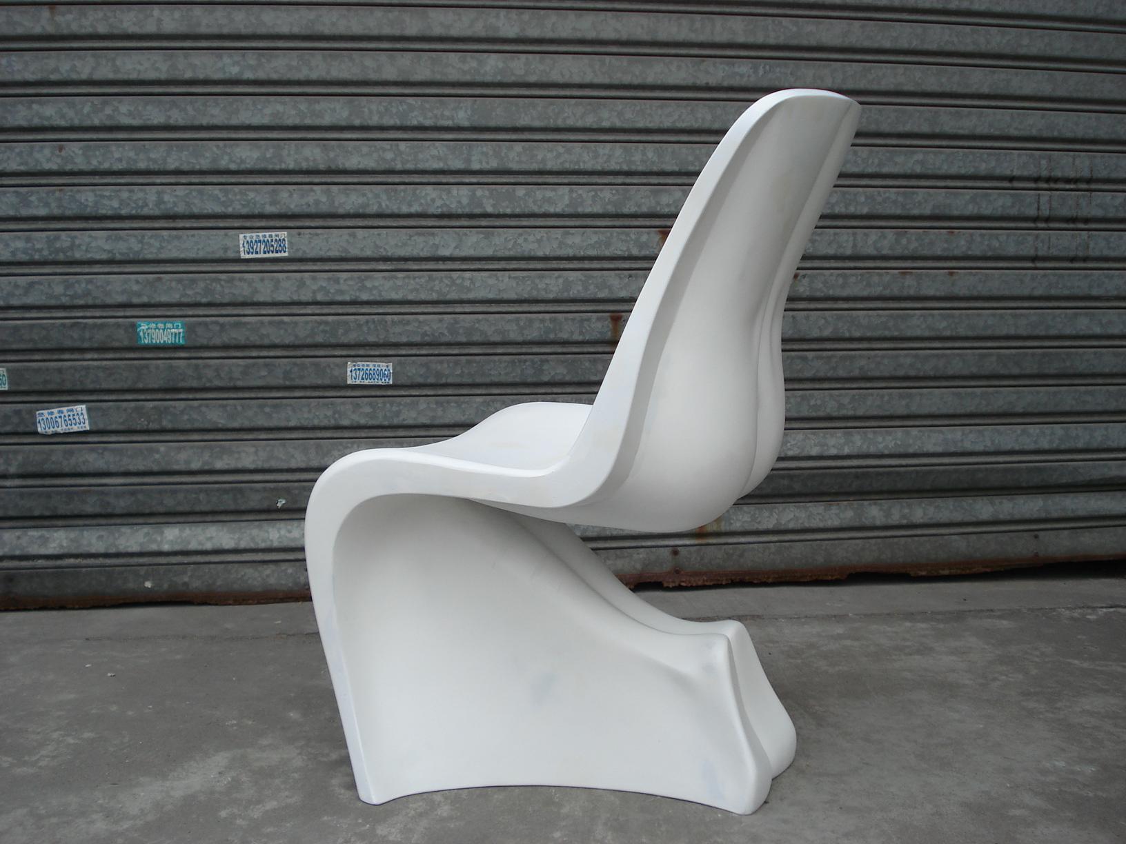 Replica Fiberglass S Shaped Fabio Novembre Him & Her Chair 8