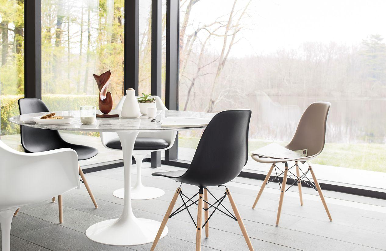 Vitra classic Eames Plastic Side Chair DSW by Ray & Charles Eames 6
