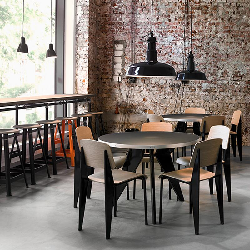 Vitra Standard Dining Chair by Jean Prouvé 2