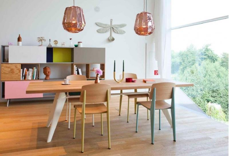 Vitra Standard Dining Chair by Jean Prouvé 6