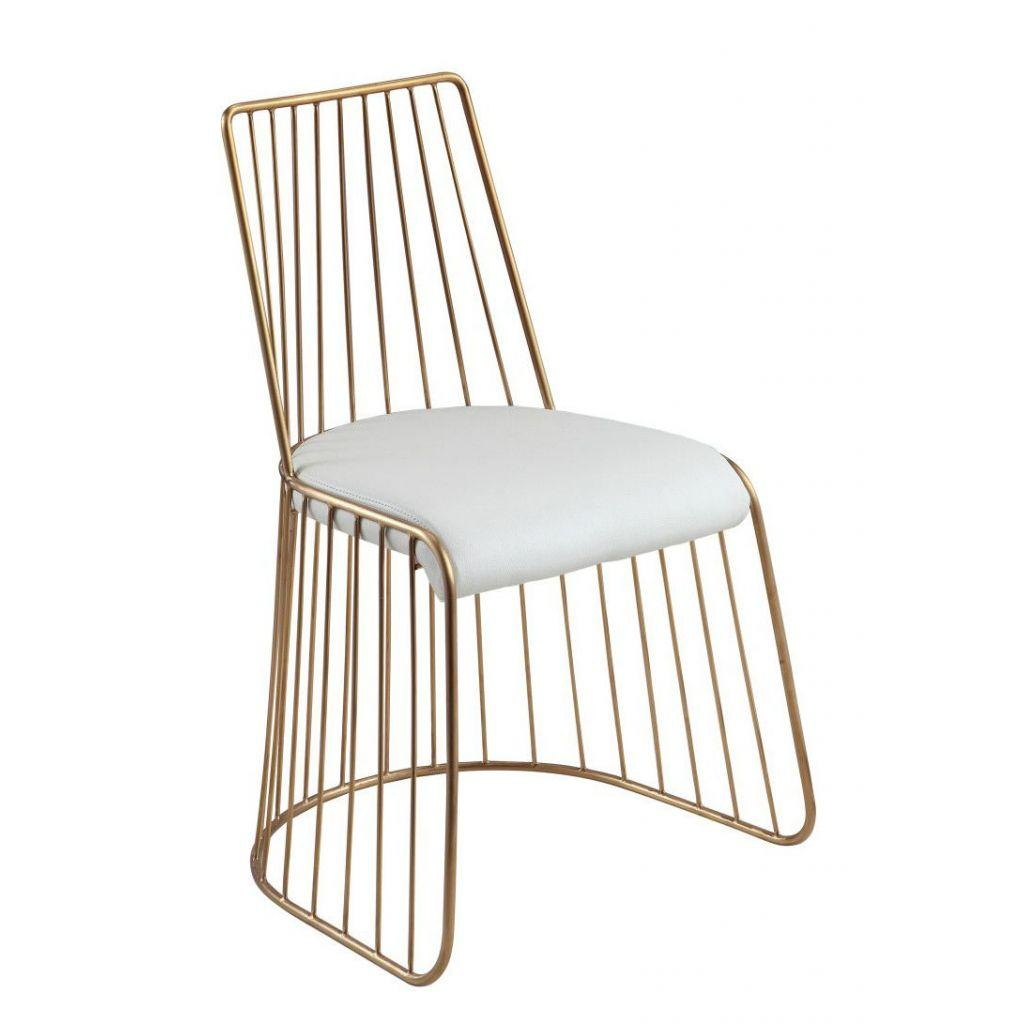 High Quality Stainless Steel Golden Veil's Bride chair 1