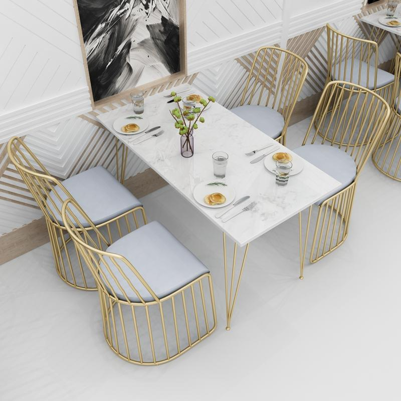 High Quality Stainless Steel Golden Veil's Bride chair 4