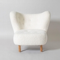 Home Furniture White Wool Little Petra