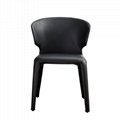Leather Cassina Hola Chair designed by Hannes Wettstein 4