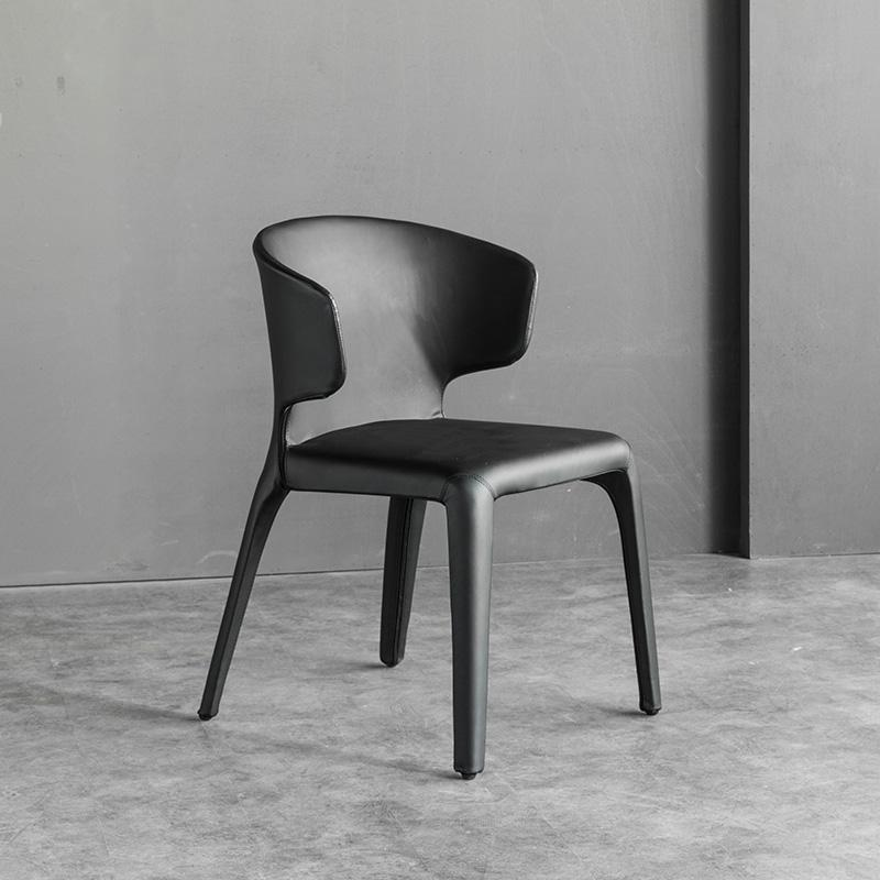 Leather Cassina Hola Chair designed by Hannes Wettstein 2