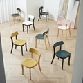 Modern Classic Design Wood Vitra Jasper Morrison Basel Chair  3