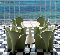 Replica Designer furniture living room flower shape Driade clover chair