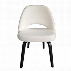 Home Furniture Replica Knoll Saarinen Executive Armless Chair with Wood Legs