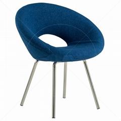 modern designer eero saarinen ring chair