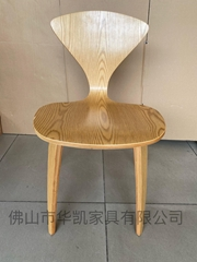 Modern Classic Design Plywood Norman Cherner Dining Chair
