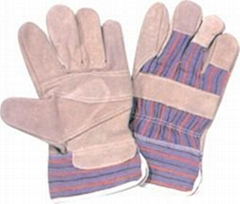 industrial leather hand work gloves cheap leather glove
