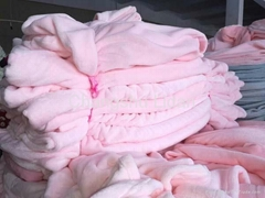 stock coral fleece blanket