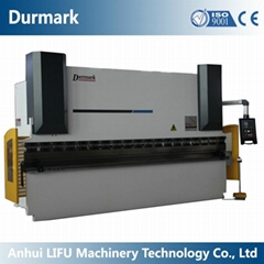 WC67K CNC hydraulic press brake return bending machine