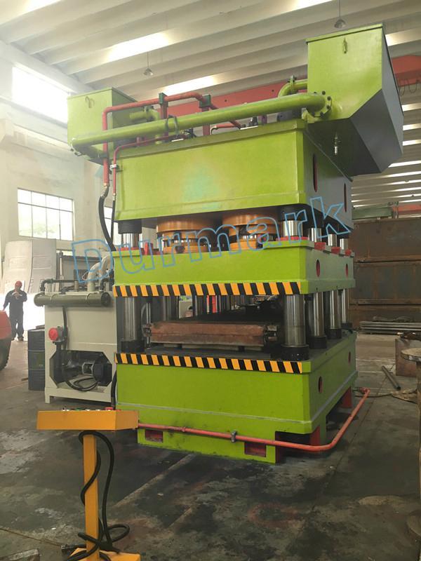 2000 ton eight column steel door making skin press machine