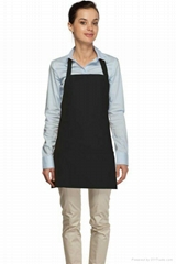 Deluxe bib aprons with 3 pockets