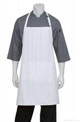 White Bib Aprons chef aprons