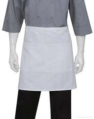 white half  bistro aprons