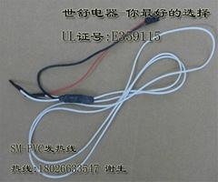 厂家直供环保螺旋芯硅胶发热线