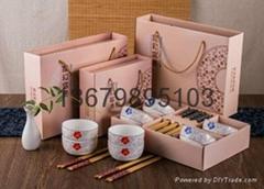 陶瓷碗套筷装