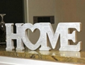 wooden customized home decoration led