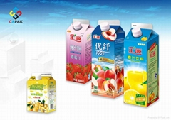 Juice Gable Top Aseptic Package Sleeve