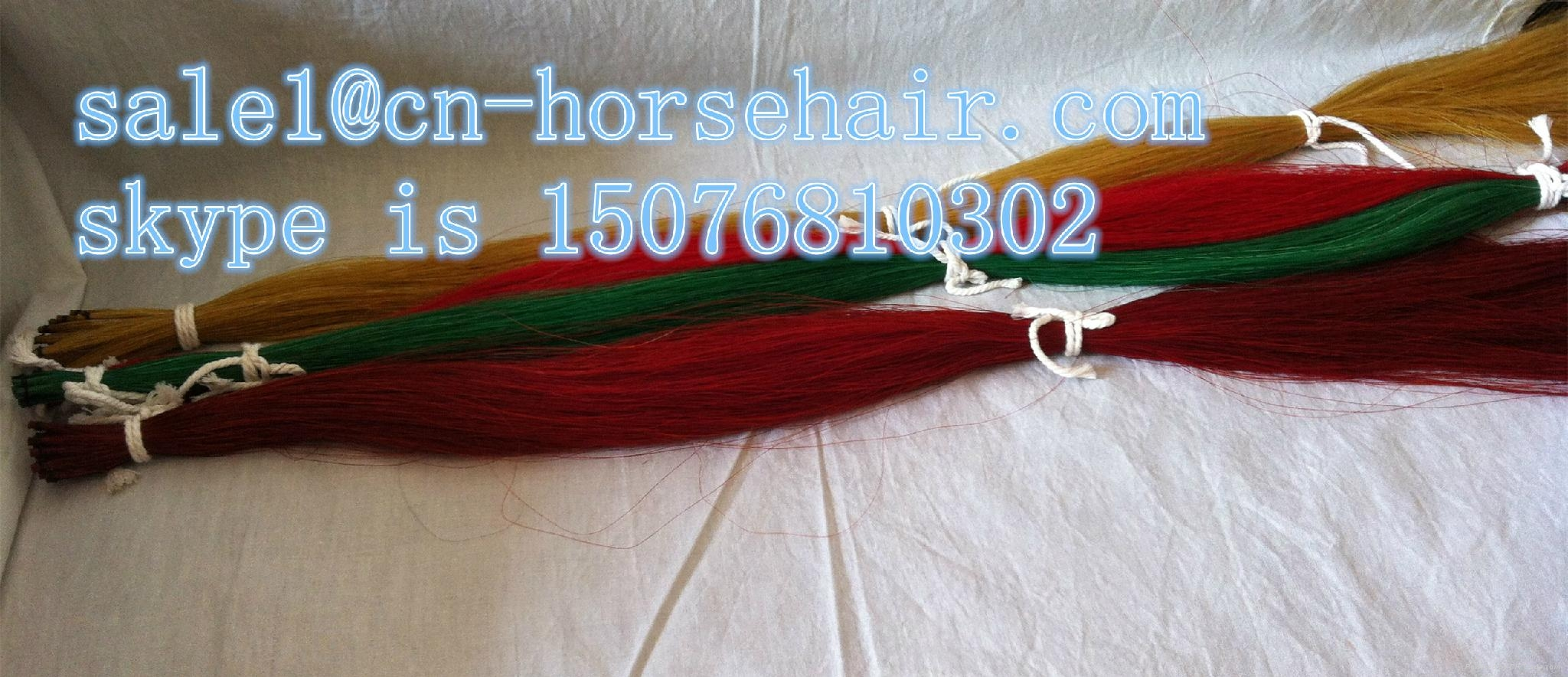 dyed horse hair 3